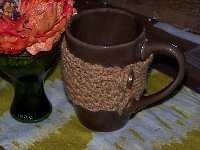 Knitted Mug Cozy Swap