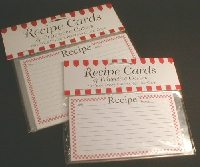 BIG recipe card swap
