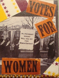 Incredible Women ATC: #4 Votes For Women