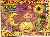 Mail Art - Halloween