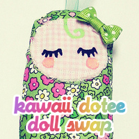 Kawaii Dotee Doll Swap