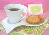 Tea, Edible Treat & Friendly Note #2