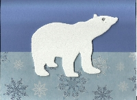 Send 2 Bear Christmas Cards