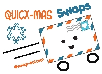 QUICX-mas paper craft swap #41