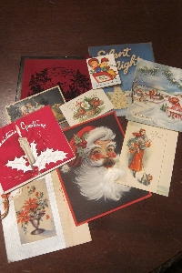 Vintage Christmas Card Swap