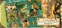 Graphics 45 ATC - Tropical Travelogue