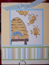 Birds and Bees are Humming! Handmade Cards