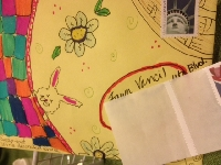 Decorate an envelope for May Day!