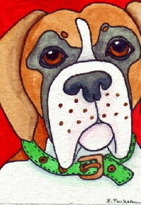 I love my dog ATC swap