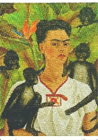 Frida Kahlo Postcard Swap