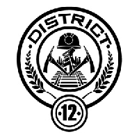 Hunger Games District 12 Sign Hunger Games Chunky Book-Swap