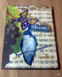 Journal Art Page - Bird or Birds - U.S.Only