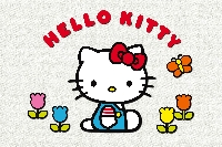 Hello Kitty Postcard - International#1