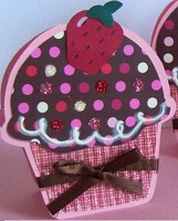 Cupcake Shaped Atc Swap
