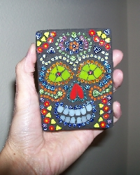 Day of the Dead ATC Swap