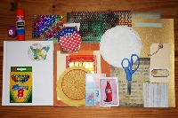 Epic smash/junk journal grab bag swap -the bag:)