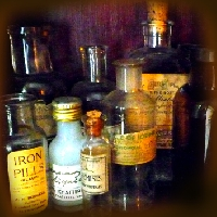 Cabinet of Curiosities - Medicine Bottle