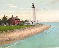 Lighthouse - USA Postcard swap