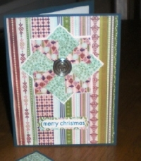 Handmade Pinwheel Card