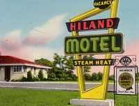 Tacky Vintage Motel - Hotel PC Swap: US-Canada