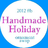 Swap-bot swap: 2012 ffb Handmade Holiday Ornament Swap