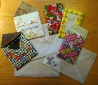 Handmade envelopes swap