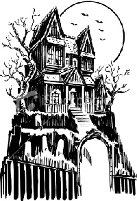 Draw An ATC Haunted House