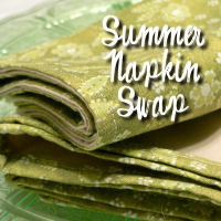 Summer Napkin Swap