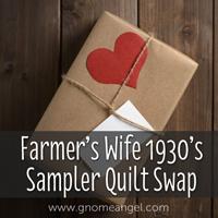 Swap-bot swap: Farmer's Wife 1930's Sampler Quilt Swap