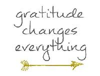 Swap-bot swap: Gratitude List