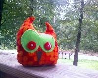 Swap-bot swap: Ogling Owlies II