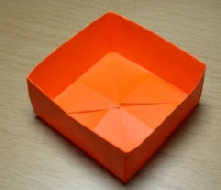 EDITED: Newpaper/Magazine Origami Trinket Box