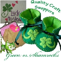 Green and Shamrocks
