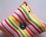 Pincushion in a Matchbox{stripes}