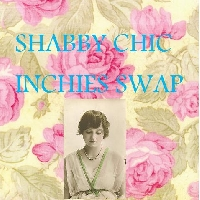 SHABBY CHIC INCHIES SWAP