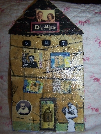Swap-bot swap: Chunky Row House-Vintage Theme (Canada/US)