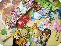 ♥ Sticker flakes swap ♥ #6