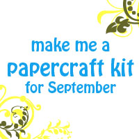 make me a papercraft kit for September