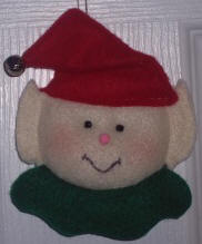 Felt Tree Ornament #4: Those Wacky Characters