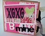 Valentine's Day Paperbag Scrapbook Swap