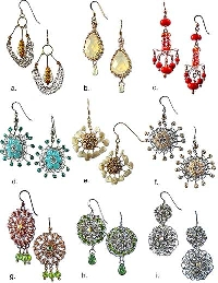 3 pc earring FEB