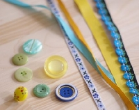 Ribbons & Buttons #12