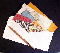Decorative Paper Scrap Swap