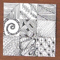 Zentangle Sampler Round 2