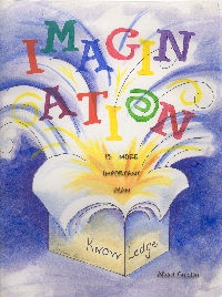 Quote ATC Series #3: IMAGINATION