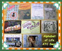 Alphabet of Life ATC Swap - Letters I and J