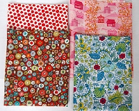 MODERN Fabric Fat Quarter Swap #2