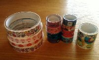 Swap-bot swap: ~Kawaii Deco Tape Samples~
