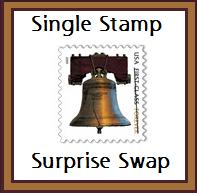 Single Stamp Surprise Swap - USA 
