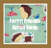 Swap-bot swap: Apron Lovers Swap - Forest Friends